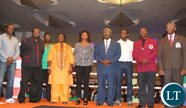 Ministery of Sport, Youth and Child Development PS Agnes Musunga led the VIPs a the guest of honour.