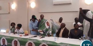 Jean Kapata welcomes Mr Lifwekelo back to the PF