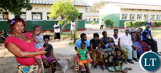 Namwala Victims camped at Secondary School