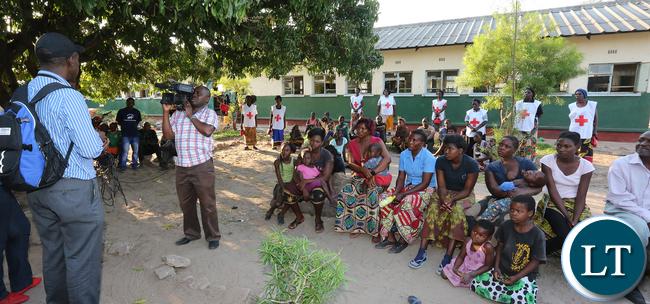 Patrick Kangwa address Namwala victims