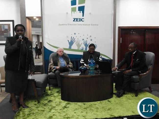 ZEIC Council of Elders during the launch of the Pre-Election Report