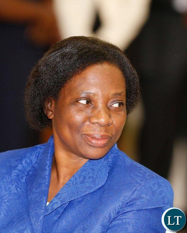 Constitutional Court Judge Anne Sitali