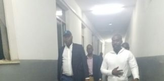 Copperbelt Minister Bowman Lusambo touring Ndola Central Hospital