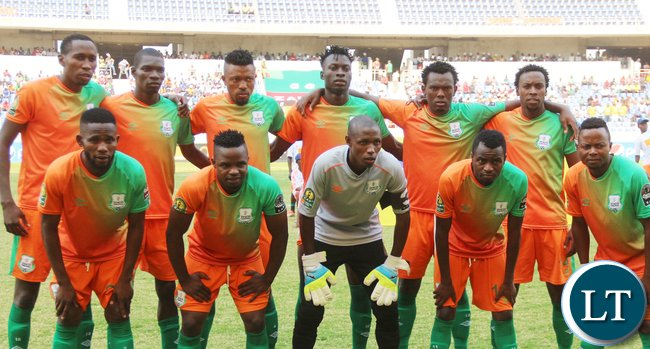 Zesco United Football team