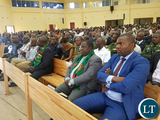 Attending the National Day of Prayer and Fasting at the New Apostolic Church in Kansenshi, Ndola
