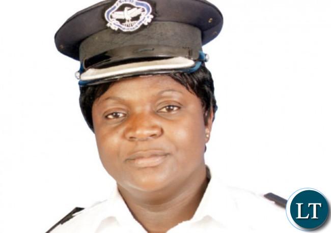 Zambia Police Spokesperson Esther Mwata Katongo