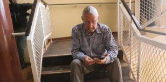 Former Vice President Guy Scott at Luanshya Central Police