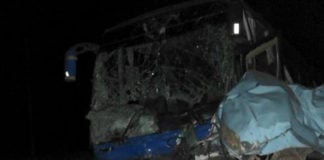 Images of the accident scene