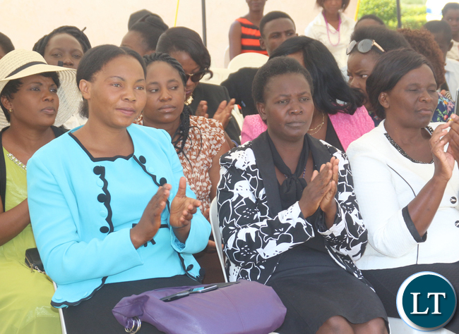 Some members of the Wina Family at the commemoration event of late husband Arthur Wina
