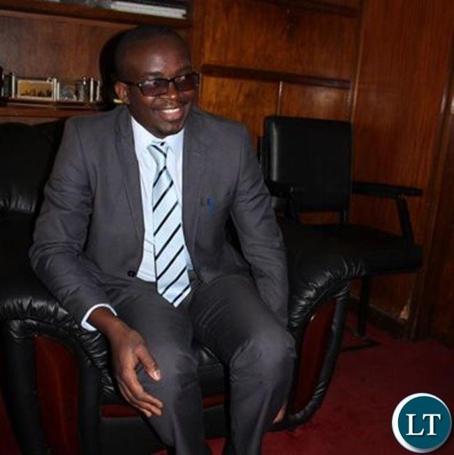 Kitwe Mayor Christopher Kang'ombe