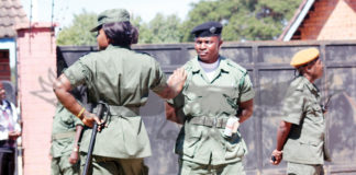 Zambia Police Officers