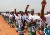 Patriotic Front PF Women at Zambia's 52nd Independence Anniversary Kasama held at Kasama Sports Stadium