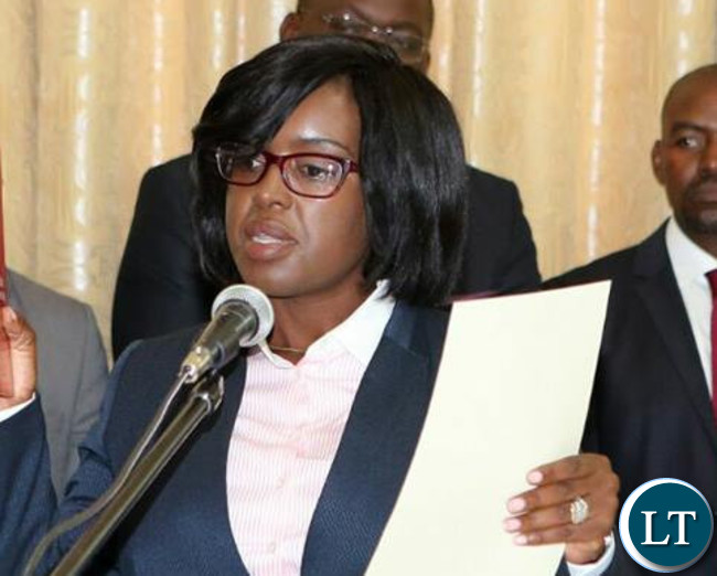 Director of Public Prosecution Fulata Lillian Shawa Siyuni