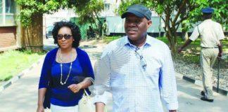 Fred M'membe and Mutinta Mazoka-Picture by Chanda Mwenya (Zambia Daily Mail)