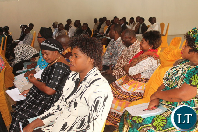 Some of the NEC members in attendance at the workshop
