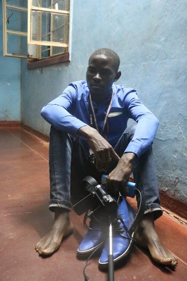 Njenze Chizu after leaving police cells