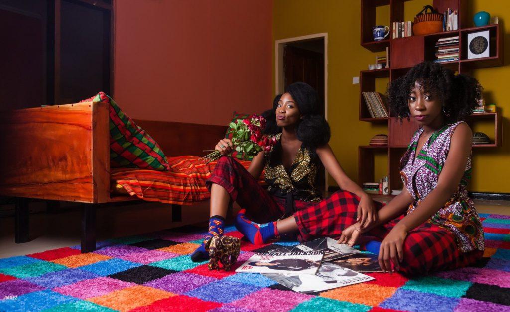 Mafashio, Sekayi and her sister Tukiya