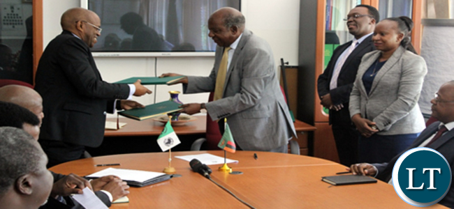 The African Development Bank Group and the Government of Zambia, on March 29, 2016 in Harare, signed three loan agreements totalling about US $123 million. The funding is for the Cashew Infrastructure Development Project (US $44.2 million), Skills Development and Entrepreneurship Project – Supporting Women and Youth (US $29 million) and the Lusaka Sanitation Program (US $50 million).