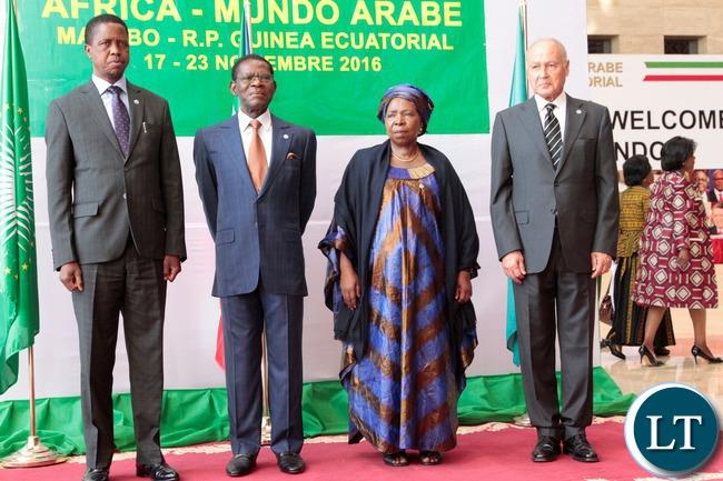 Buhari to Malabo Summit