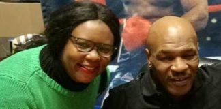 Dora Siliya meets Mike Tyson