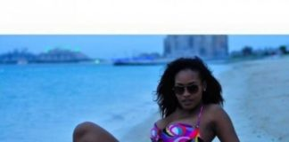 File Photo of Iris Kaingu at the beach