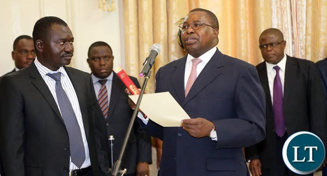 Zambian Ambassador Albert Muchanga.