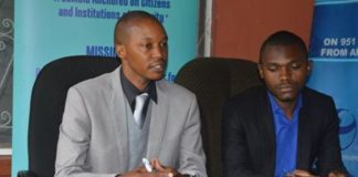 Transparency International Zambia (TIZ) Executive Director Wesley Chibamba