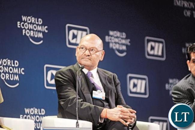 Vedanta Resources boss Anil Agarwal