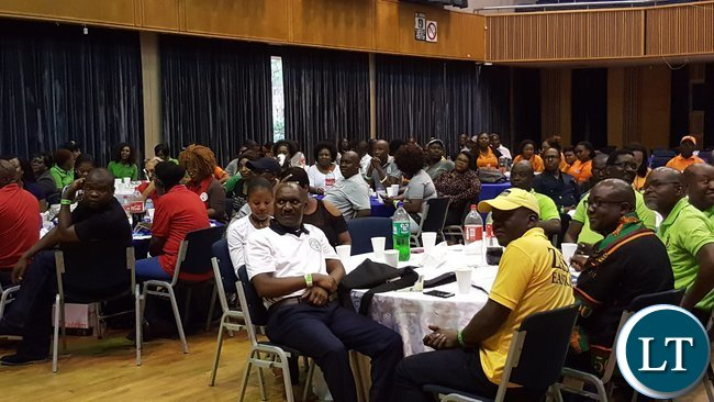 Part of the audience at the Zambia Association in South Africa annual general meeting in Kempton Park, South Africa on 28th January, 2017