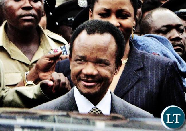 Late Former President FTJ Chiluba