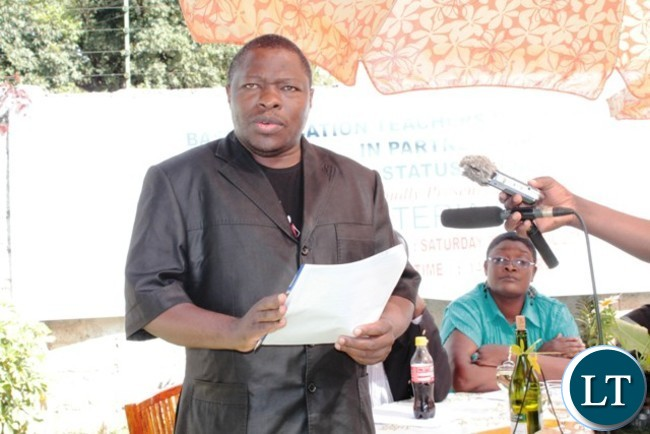 Cosmas Mukuka ZCTU Secretary General