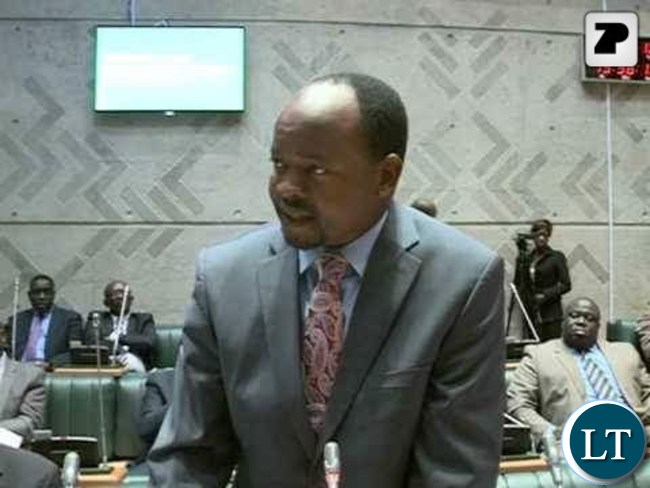 Choma Central Member of Parliament Cornelius Mweetwa
