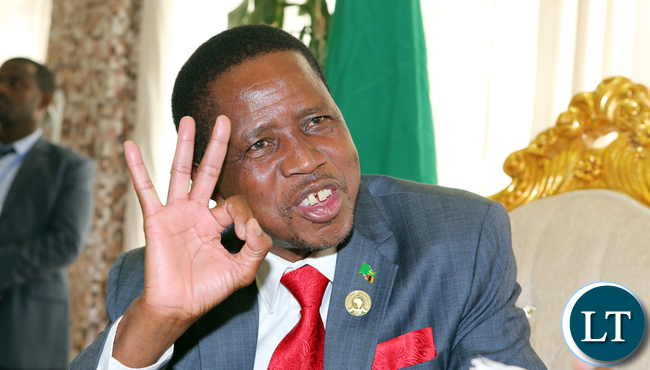 President Lungu Interview in Addis Ababa , Zambia First