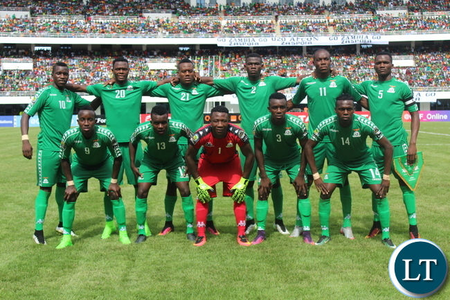 Under 20 Zambian National Team