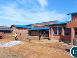 PART of the K 14.3 million Zambia Revenue Authority's (ZRA) Chanida one-stop border post under construction by Huachang Construction Company. PICTURE BY STEPHEN MUKOBEKO/ZANIS