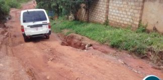 A road in Solwezi