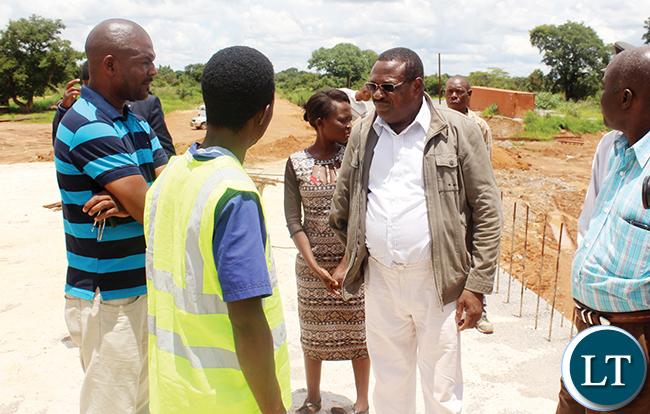 Chembe Member of Parliament Sebastian Kopulande