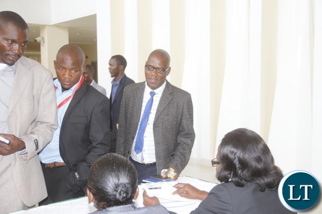 Registration of Delegates For the AGM