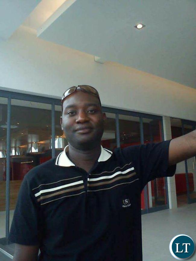 Mark Nchimunya Choongwa who ws clobbered to death