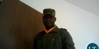 Murdered ZAF Officer