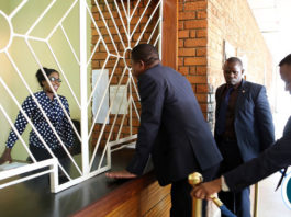 President Edgar Lungu touring Government Printers in Lusaka