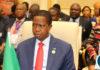President Lungu at the SADC Summit