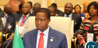 President Lungu at the SADC Summit