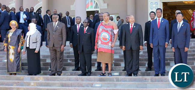 SADC leaders take group Photo