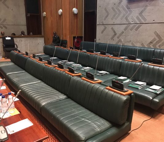 UPND MP's seats unoccupied in Parliament this morning