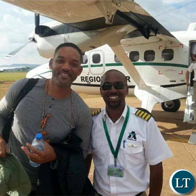 Will Smith in Zambia