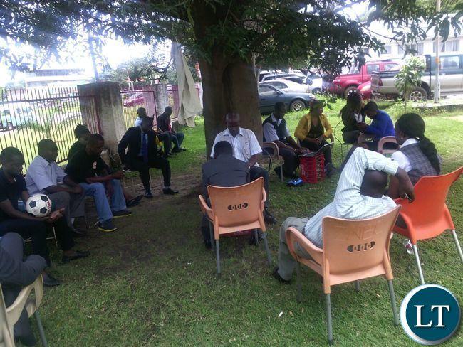 ZNBC Kitwe Studios workers on go slow