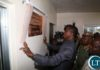 President Edgar Lungu unveils the plaque to officially commissioning the Katuba Toll Plaza in Katuba