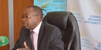 ZRA Commissioner General Kingsley Chanda