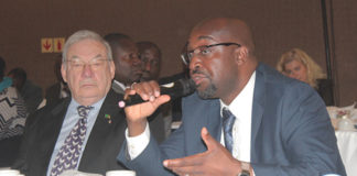 MINISTER of Transport and Communication Brian Mushimba